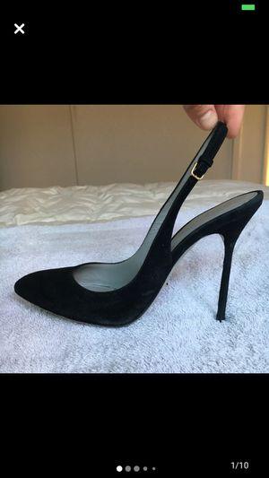 Sergio Rossi Black Suede Heels for Sale in Los Angeles, CA
