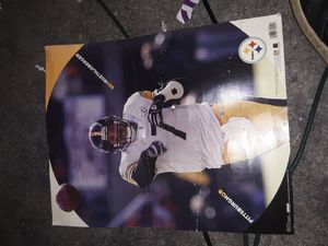 Ben Roethlisberger poster for Sale in Columbus, OH