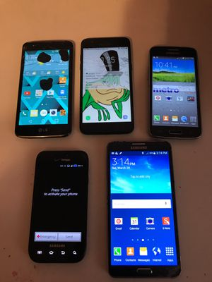 Samsung & LG Phones (Negotiable) for Sale in Los Angeles, CA