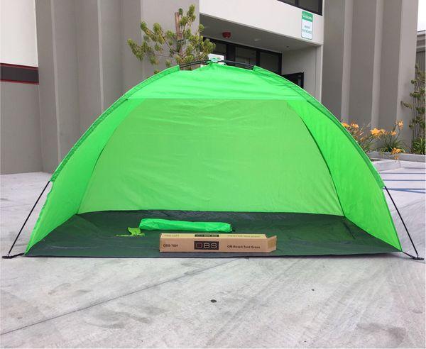 New in box $15 each 7x3 feet beach tent sun shade 3 person use blue color