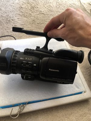 Panasonic Dvc 30 w/ fisheye&bag but no charger for Sale in San Diego, CA