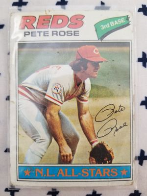 Pete Rose 1977 #450 NL All Stars $12 for Sale in Fresno, CA