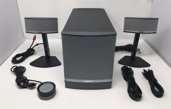Bose Companion 5 Multimedia Speaker System - Excellent Condition
