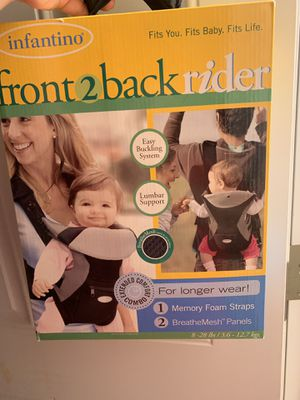 Infantino baby carrier for Sale in Imperial, PA