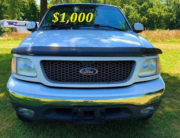 ✅ 🔥$1,000🔥 Up for sale URGENT this beautiful 2002 Ford F150 V8 🔥 runs very good🔥✅