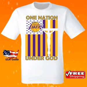 Los Angeles Lakers NBA Basketball Jersey Nation T Shirt New for Sale in Hallandale Beach, FL