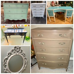 Upcycled furniture and fun vintage home decor for Sale in Bethesda, MD