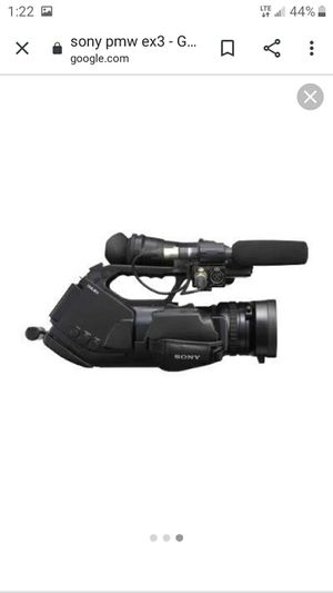 Sony video camera for Sale in Canton, OH