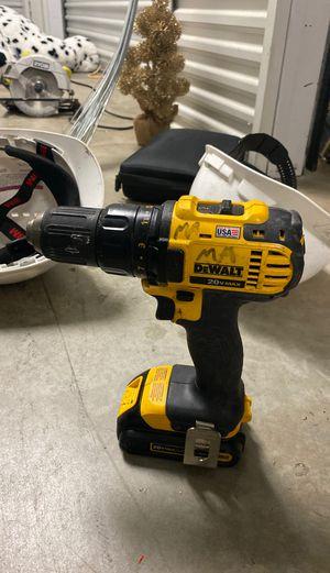 Dewalt 20V max drill for Sale in Houston, TX