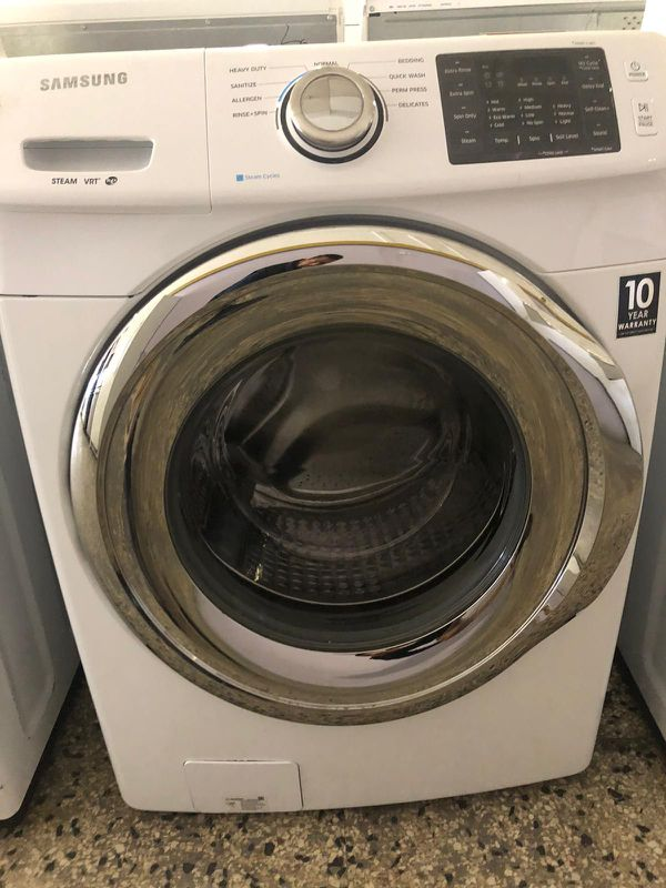 Samsung front load washer with warranty