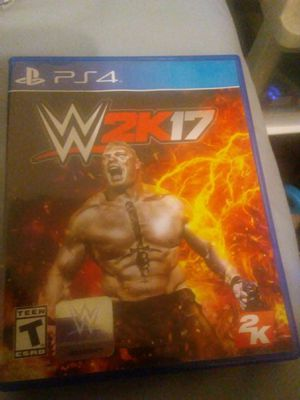 PlayStation 4: WWE 2K17 for Sale in Annandale, VA