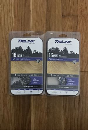 TriLink 16 inch chainsaw chain for Sale in Millbury, MA