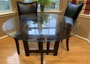5 Piece round breakfast/ Dinning table with cushioned chairs. for Sale in Chalfont, PA