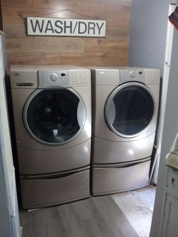 Kenmore Elite Front loading washer and dryer set