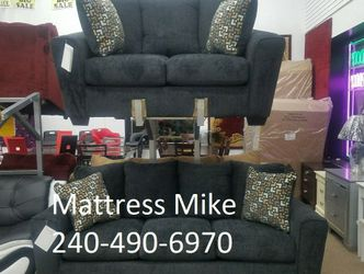 New Ashley Furniture High Quality Sofa Loveseat With Pillows for Sale in College Park,  MD
