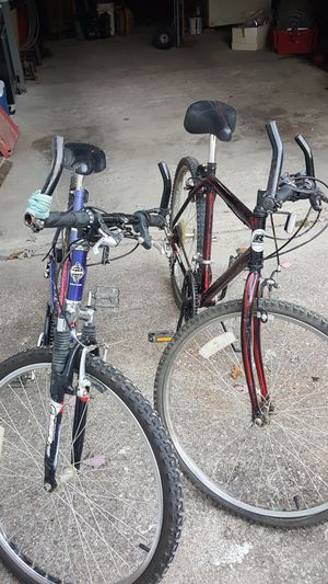 Huffy and Rand 18 speed mountain bikes 30 each for Sale in Lorain, OH