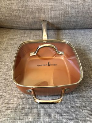 Copper Chef pan with frying basket for Sale in Irving, TX
