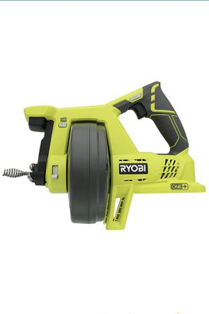 Ryobi P4001 One+ 18V Lithium Ion All-In-One 25 Foot Drain Auger for Sinks or Toilets (Battery Not Included, Power Tool Only) for Sale in Houston, TX