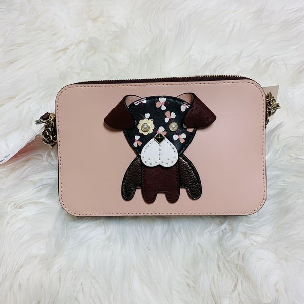 Kate Spade Small Crossbody Floral Pup Double Zip