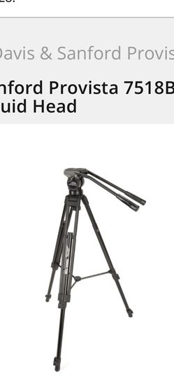 Davis & Sanford Provista 7518B Tripod with V18 Fluid Head for Sale in Braintree,  MA