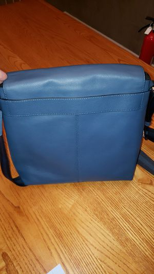 """Coach unisex """"Charles """" Messenger Bag Navy Blue for Sale in City of Industry, CA"""
