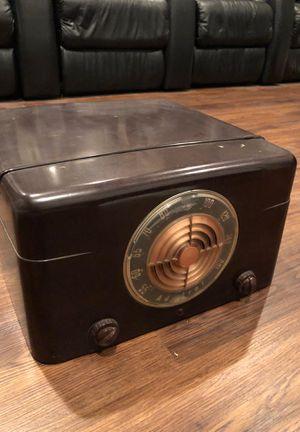 Radio, record player vintage , radio works! for Sale in Leesburg, VA