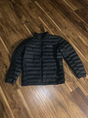 Black Columbia Puffy Jacket Large for Sale in Weldon Spring, MO