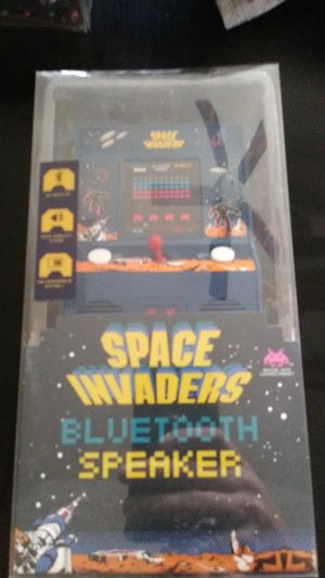 Space invaders bluetooth speaker for Sale for sale  Clovis, CA