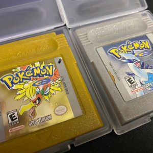 Pokemon Gold And Silver AUTHENTIC GBA Games for Sale in Litchfield Park, AZ