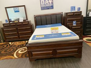 New Gloria Platform Queen Bedroom Set $999. King Set $1099. Same day delivery for Sale in Tampa, FL
