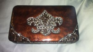 Bling wallet brown or teal green for Sale in Lumberton, TX