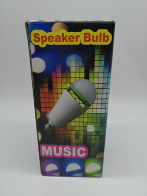 New Bluetooth LED SPEAKER LIGHT BULB WITH A REMOTE CONTROL for Sale in Elk Grove Village, IL