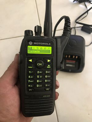 Motorola XPR 6550 comercial profesional with brand new battery for Sale in San Diego, CA