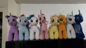 Build a bear- My little pony plushies for Sale in Lawndale, CA