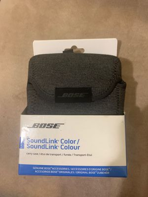 BOSE Soundlink color carry case for Sale in Chicago, IL