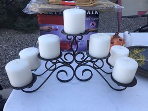 Bronze Decorative candle stand for Sale in Rio Rancho, NM