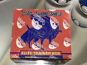 Sword & Shield Elite Trainer Box Zacian Pokemon Cards for Sale in Orlando, FL