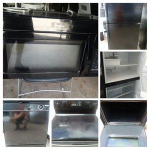 Property Manager black kitchen appliance set for Sale in Orlando, FL