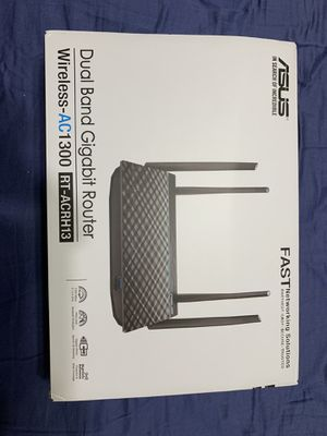 ASUS - AC1300 Dual Band Router for Sale in Palm Springs, FL