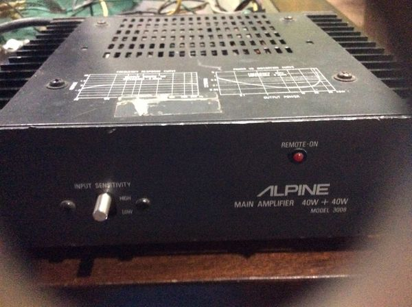 Alpine AMP (retro)