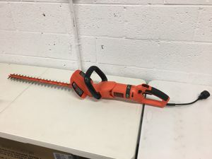 24 in. 3.3-Amp Corded Electric Hedge Trimmer with Rotating Handle for Sale in Mesa, AZ