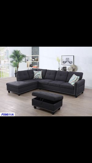 Brand New 3pc Sectional for Sale in Buckeye, AZ