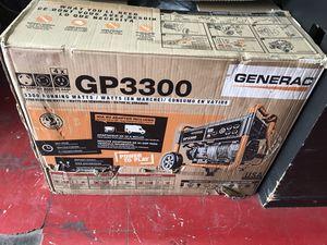 Generac 3300 running watt portable generator for Sale in Nashville, TN