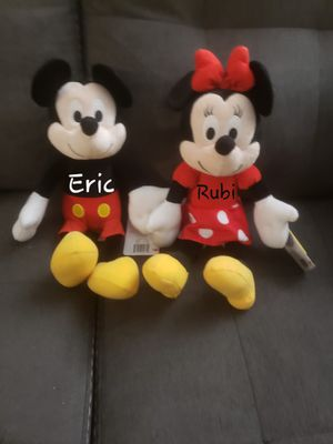 Personalized minnie and Mickey mouse for Sale in Rancho Cucamonga, CA