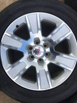 4 rines 20s para gmc y Chevy trokas for Sale in Duncanville, TX