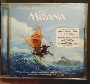 Disney Moana Soundtrack Music CD for Sale in Fresno, CA