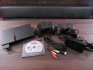 Sony PlayStation 2 w/ 2 controllers, 2 dance pads, and game for Sale in Pembroke Pines, FL