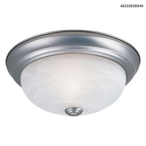 "Designers Fountain Decorative Flushmount 11"" Small 2-Light Pewter Ceiling Flush Mount for Sale in Dallas, TX"
