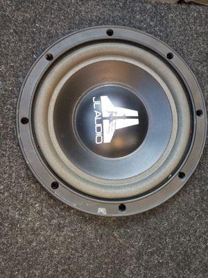"8"" JL Audio sub and box for Sale in McDonough, GA"