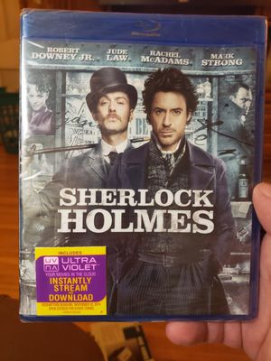 Sherlock Holmes Bluray Brand New for Sale in Minneapolis, MN